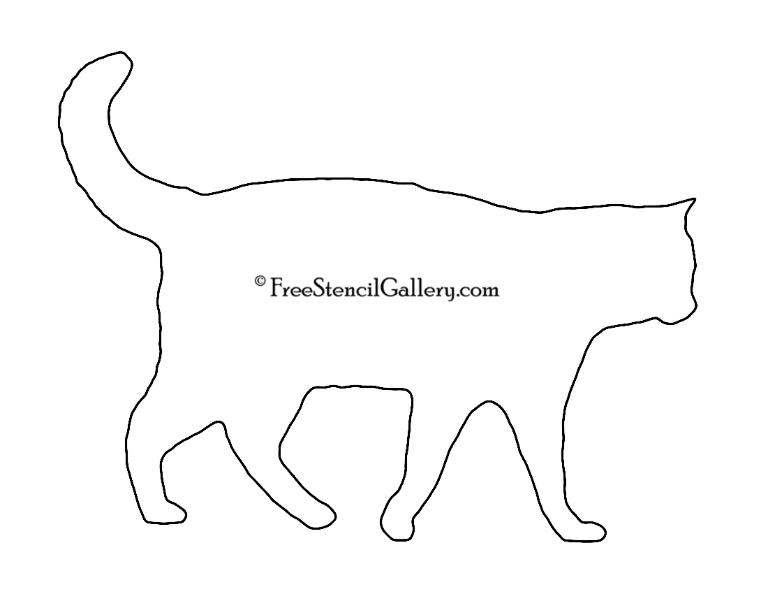 Cat Stencil