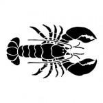 Lobster Stencil