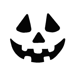 Jack o lantern face 04 free stencil gallery for Scary jack o lantern face template