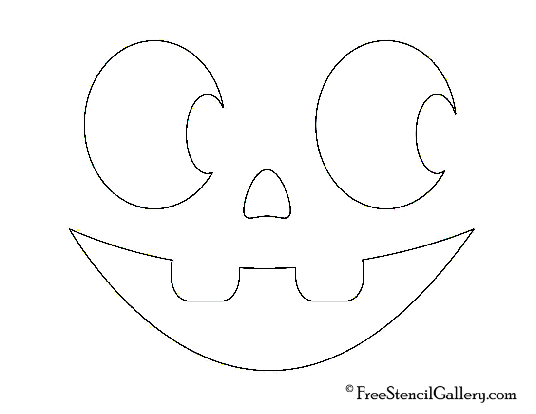 It is a graphic of Simplicity Jack O Lantern Stencil Printable