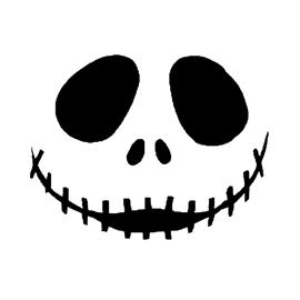 jack skellington face template - jack skellington face free stencil gallery