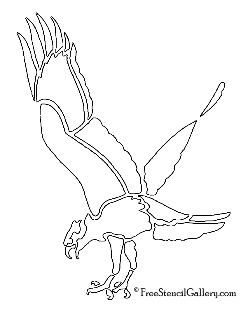 Hawk Stencil