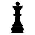 Chess Piece - Queen Stencil