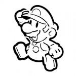 Paper Mario Stencil