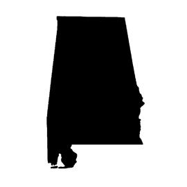 Alabama Stencil