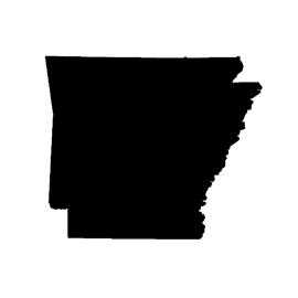 Arkansas Stencil