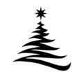 Christmas Tree Stencil 20