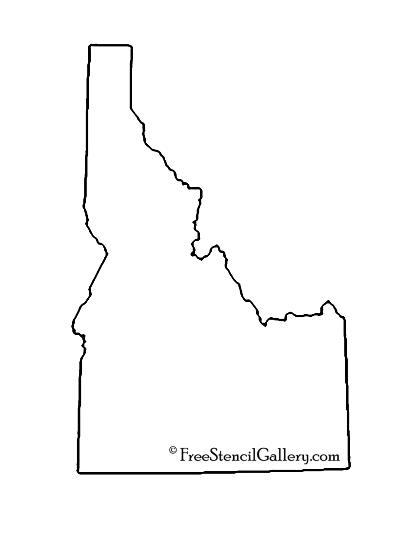 Idaho Stencil