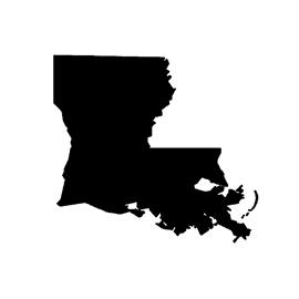 Louisiana Stencil