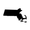 Massachusetts Stencil