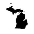 Michigan Stencil