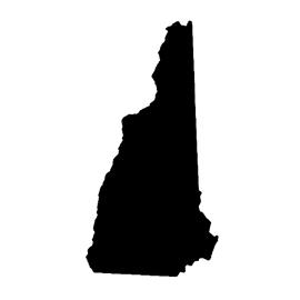 New Hampshire Stencil