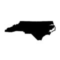 North Carolina Stencil
