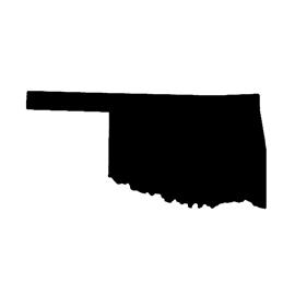 Oklahoma Stencil