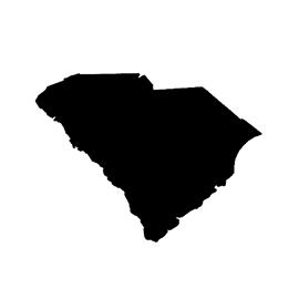 South Carolina Stencil