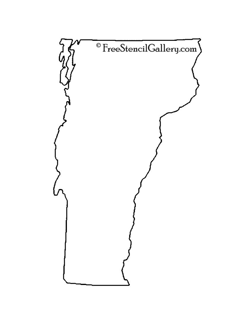 Vermont Stencil