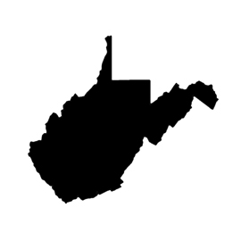 West Virginia Stencil