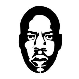 Jay Z Stencil