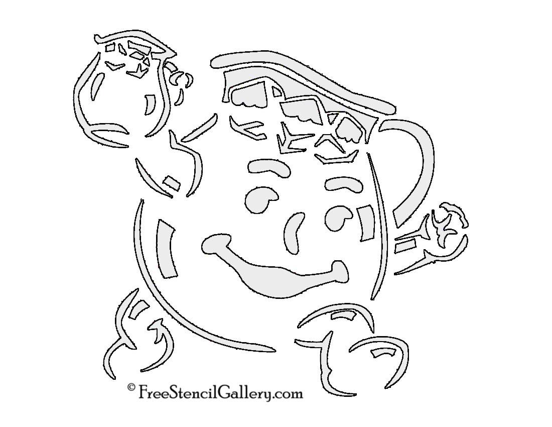 Kool Aid Printable Kool Aid Man Stencil
