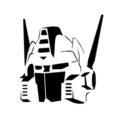 Optimus Prime Stencil