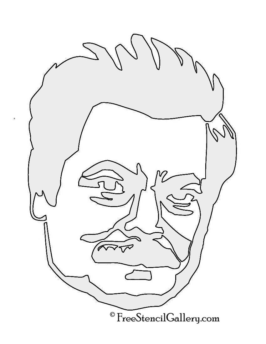 Ron Swanson Stencil