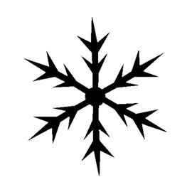 Snowflake Stencil 01