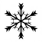Snowflake Stencil 05