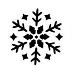 Snowflake Stencil 10