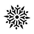 Snowflake Stencil 13