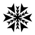 Snowflake Stencil 19