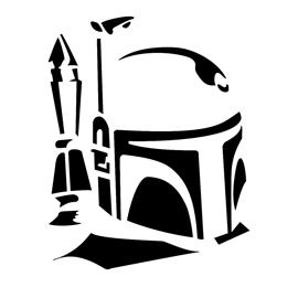 Boba Fett Stencil