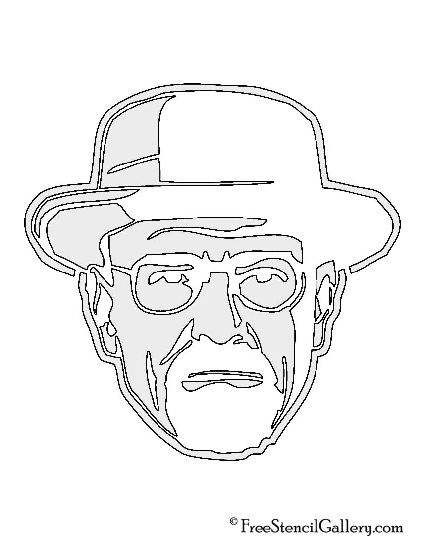 Breaking Bad - Heisenberg Stencil