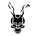 Donnie Darko Frank the Bunny Stencil