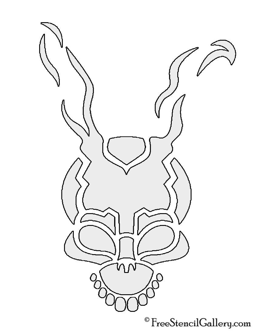 Donnie darko frank the bunny stencil free gallery