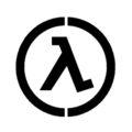 Half Life - Lambda Complex Logo Stencil