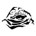 Jabba the Hutt Stencil