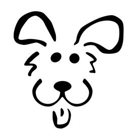 Dog Stencil 02 | Free Stencil Gallery