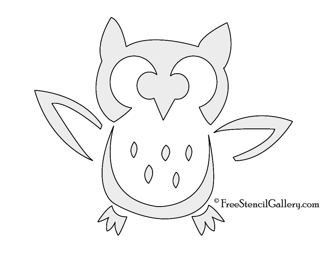 Printable owl stencils - photo#8