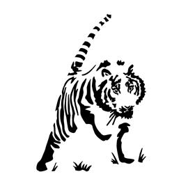 Tiger Stencil 04 Free Stencil Gallery