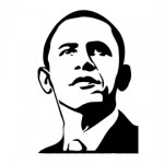 Barack Obama Stencil 2