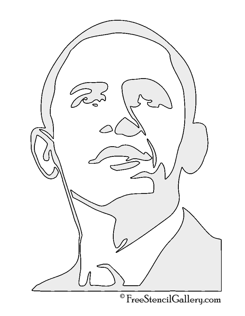 obama coloring pages - photo #43