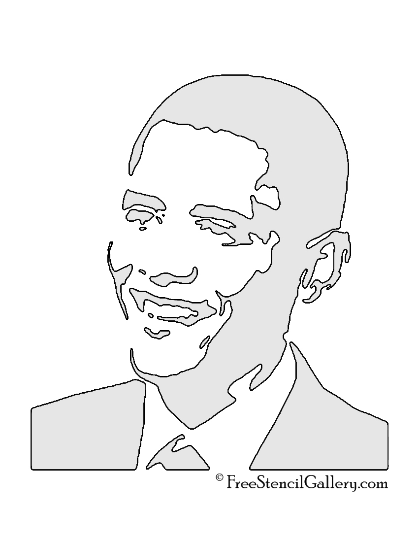 obama coloring pages - photo #23