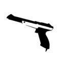 NES Zapper Stencil