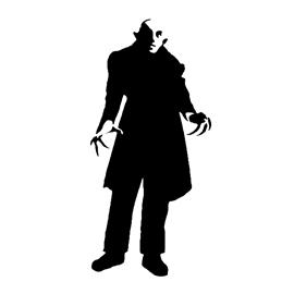 Nosferatu Stencil