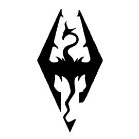 Skyrim Logo Stencil Free Stencil Gallery