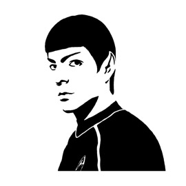 Spock Stencil 02