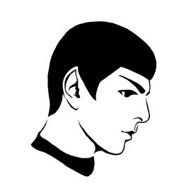 Spock Stencil 01