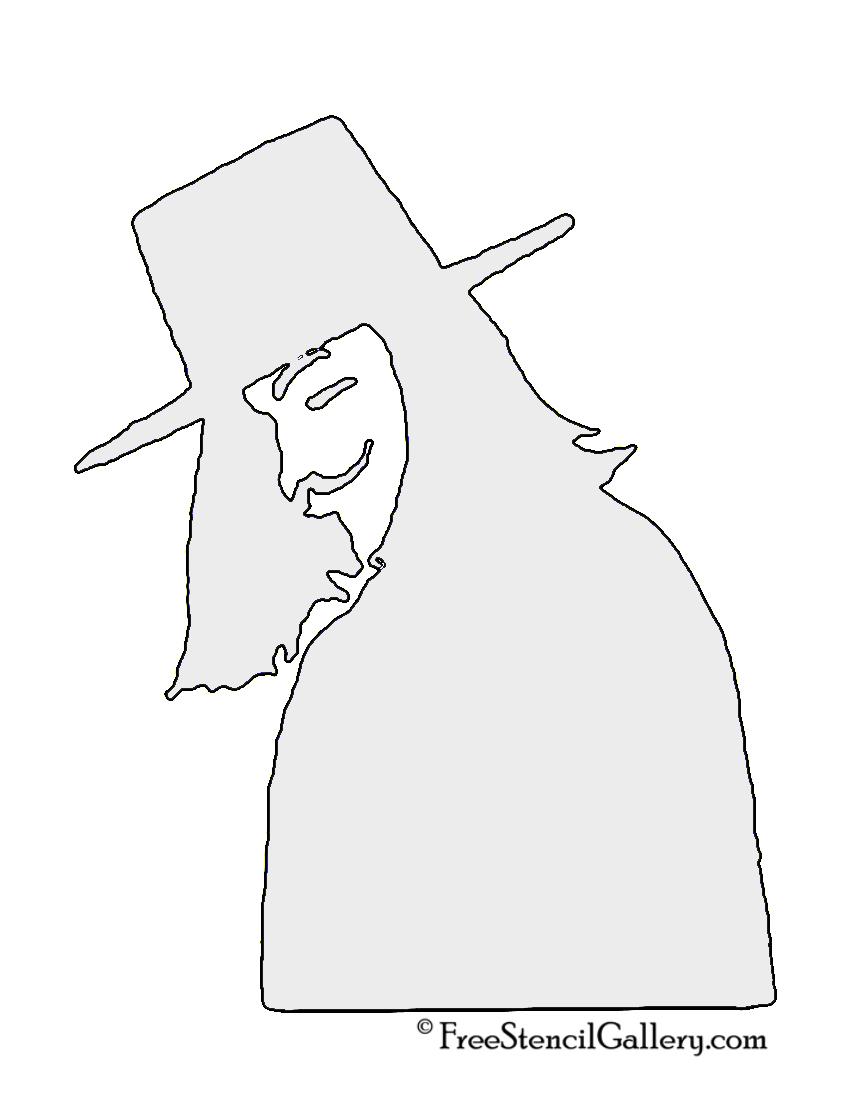 V for Vendetta Stencil