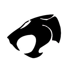Thundercats Symbol Stencil