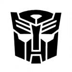 Transformers - Autobot Symbol Stencil